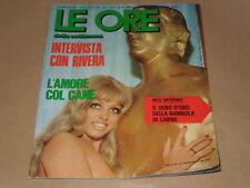 LE ORE DELLA SETTIMANA RIVISTA CULT ANNO 1972 N.31-