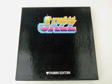 I GRANDI DEL JAZZ - LA TRADIZIONE - BOX LP + BOOKLETS FABBRI EDITORE NM/VG++