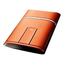Lenovo N700 Inalámbrico Y Mouse Bluetooth y puntero láser -- Naranja