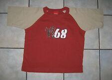 T-Shirt ° Esprit ° rot/khaki ° Gr. 92/98 °