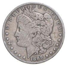 Early 1888 Morgan Silver Dollar - 90% US Coin *047