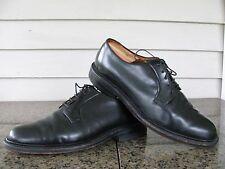 Walk-Over Made in USA Black Leather PTB  Sz 9  EEE/E  Leather Sole EUC