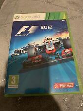 Xbox 360 de fórmula 1 F1 2012-Completo-correo de primera clase
