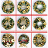 40cm Christmas Large Wreath Door Wall Ornament Garland Decoration Red,,