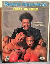 Muhammad Ali Signed Sports Illustrated Magazine 9/15/1975 Beckett BAS A00934