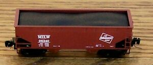 Z SCALE~RELEASED: 12-2016  MTL 533 00 141  MILWAUKEE ROAD  RD# 96340