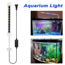 "LED Aquarium Light Color Adjustable 18"" Fish Tank Blue & White Bright Ultra-thin"