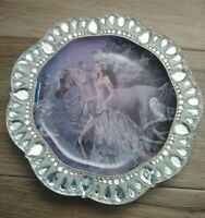 Nene Thomas Fifth Issue Crystal Enchantment Plate Snow Queen No A0372