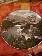 Bow Valley Banff National park 10 In Scenic Plate Royal Doulton