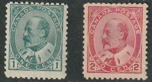Canada, King Edward VII 89, 90, mint