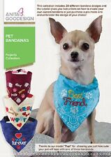 Anita Goodesign Embroidery Machine Design CD PET BANDANA