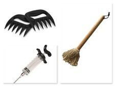 BBQ TOOL - Flavour Boosting Tool Pack - Mop, Injector, Claws - FREE POST!
