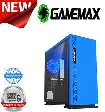 Expedición gamemax Pc Para Juegos Intel Core 2 Duo E8400 4GB Ram 160GB HDD 1GB GT710