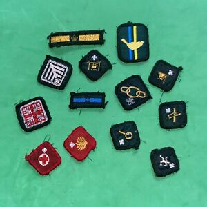 Collection Of Vintage Boy Scout Badges