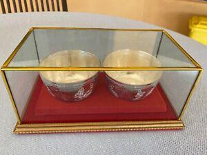 Thai Hand Made Silver Presentation Bowls (100gm X 2)