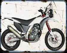 Ajp Pr7 660 Adventure 15 3 A4 Metal Sign Motorbike Vintage Aged