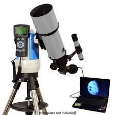 Silver 80mm Computerized Telescope w USB Color Camera
