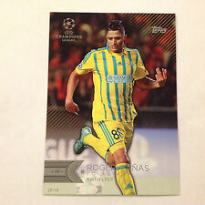 ROGER CANAS #77 FC ASTANA #/10 Made 2016 Topps CHAMPIONS Showcase UEFA 5X7 GOLD