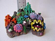 NEW Resin Exotic mini high detailed Coral Reef Aquarium Train Garden Sponge Bob