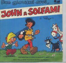 Vinyle 45 Tours - John Pirlouit - Deux Jeunes Héros Signatur 1984