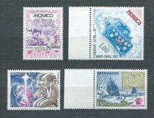 MONACO - 1981 YT 1298 à 1301 -  TIMBRES NEUFS** MNH LUXE