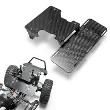 Carbon Fiber Battery Front Mounting Plate Upgrade Parts for 1/10 RC Axial SCX10