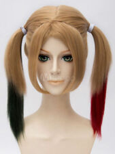 Suicide Squad Harley Quinn Cosplay Wig Flaxen Bunches Cosplay Wig Hair