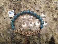 Lia Sophia Red Carpet Blue Turquoise Bracelet NWT