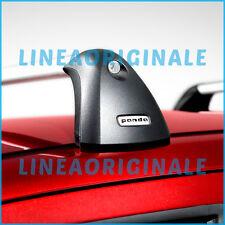 Barre Trasversali ORIGINALI Fiat Panda portatutto portapacchi new ita 50926336