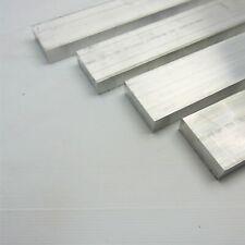 """New listing 1.25"""" x 3.5"""" Aluminum 6061 Flat Bar 7.125"""" Long new mill stock Qty 4 sku M313"""