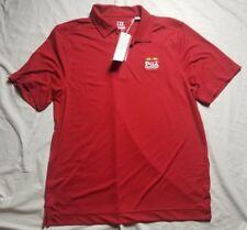 Cutter & Buck DryTech Men's Large Golf Red Shirt PGA Baltusrol 2016