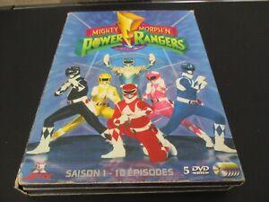 """COFFRET 5 DVD """"POWER RANGERS : MIGHTY MORPHIN, SAISON 1"""" La série originale"""