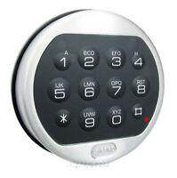 LA GARD LG Basic II Digital Keypad Electronic Lock Gun Any Safe Chrome Repl S&G