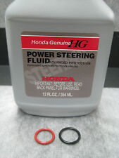 Power Steering Pump O-Ring Seals & Fluid for Honda - 3 pc Kit - Ships Fast!