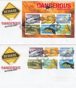 Australia 2006 Dangerous Australians First Day Covers