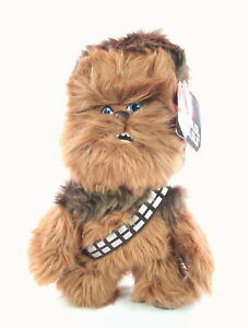 "STAR WARS wookie CHEWBACCA cute 10"" soft toy plush Last Jedi - NEW!"