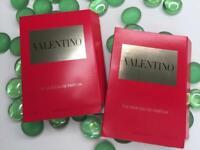2x VALENTINO The New Voce Viva EDP Spray .04oz/1.2mL Each, Womens Perfume Sample