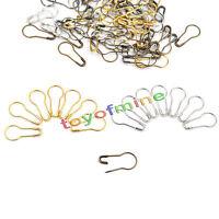 100 Pcs Needle Clip Knitting Craft Stitch Crochet Tool Copper Markers Locking