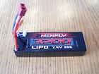 Redcat Hexfly 2S 7.4 Volt LiPo 3200mah 20C Battery HX-320020C-D Deans / Blackout