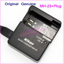 Genuine Original Nikon MH-23 Charger for EN-EL9A EN-EL9 D40 D40x D60 D3000 D5000