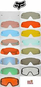 FOX RACING BRAND AIRSPC AIR SPACE GOGGLE REPLACEMENT LENSES CHOOSE -COLOR MIRROR