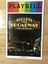 Bullets Over Broadway June 2014 Broadway Playbill Pride Edition