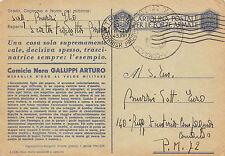 A7500) WW2 FRANCHIGIA MO GALUPPI ARTURO DA BOLOGNA 72 LEGIONE CC.NN.