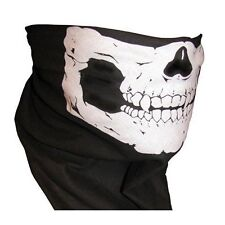 Skull Face Mask for Bikers Tube Snood Tactical Bandanna Motorcycle Scarf