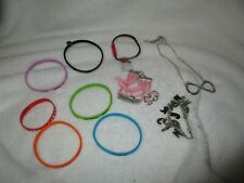 One Direction Jewellery Necklace Bracelets Bundle