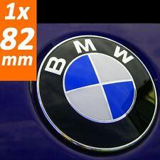 BMW Emblem 82mm  Zeichen Abdeckung Motorhaube Kofferraum Heckklappe