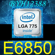 Intel Core 2 Duo CPU E6850 3.0 GHz 4M Cache SLA9U Socket 775 Processor