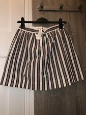 Bonpoint Stripe Cotton Skirt Age 12 Years - BNWT