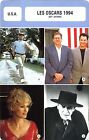 Fiche Cinéma évènements. Movie Card Events. Les Oscars 1994 (USA) 67e année