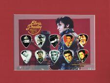 Elvis Presley Picture Guitar Pick Set GI Blues Aloha From Hawaii Jailhouse Rock